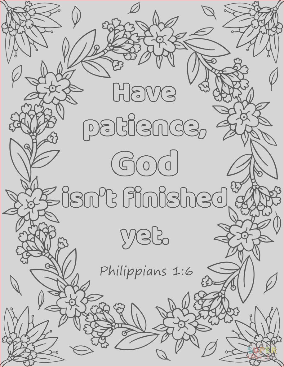 have patience god isnt finished yet