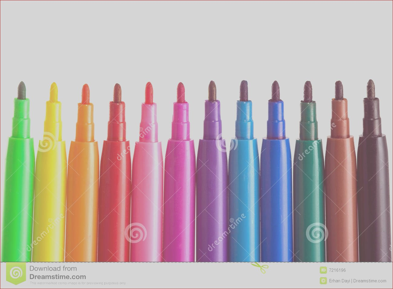 royalty free stock image coloring pens image