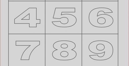 Printable Number Coloring Pages Luxury Photos Free Printable Number Coloring Pages for Kids