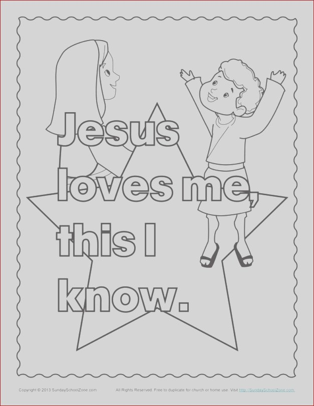 sunday school coloring pages jesus