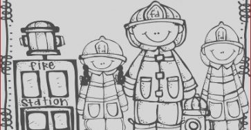Thank You Firefighters Coloring Pages Cool Photography Thank You Firefighters Page Coloring Pages